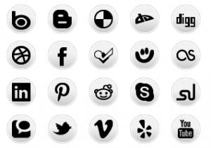 simple-social-media-circles