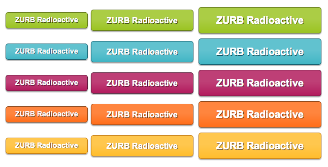 ZURB Radioactive - All Buttons