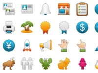 32 Free Icons: Onebit, Set 4