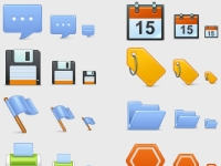 42 Basic Icons, Set 1