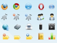 100 Free Weby Icons