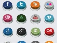 20 Social Buttons
