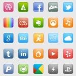 50 Social Media Icons