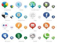 64 Social Media Balloons