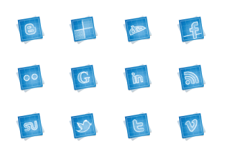 Blueprint Social Media - All Buttons