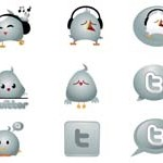 9 Chrome Twitter Icons