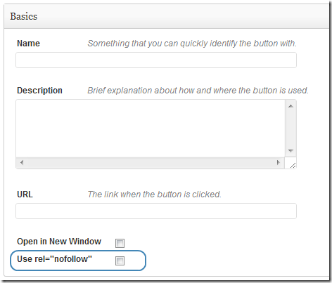 "MaxButtons Pro provides a rel=""nofollow"" option"