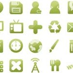 Free Icons: 108 Go Green Icons