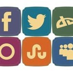 20 Retro Style Social Icons