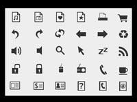 Free Icons: 108 Mono Icons