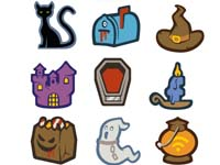 Free Icons: 22 Unique Halloween Icons