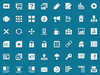Free Icons: 60 Jigsoar Web Icons