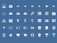 Free Icons: 120 Application Icons