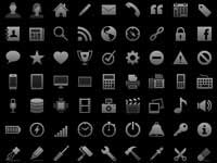 Free Icons: 300 iOS Tab Bar Icons