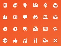 Free Icons: 42 Pika Style Icons