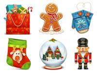 Free Icons: 10 Christmas Icons