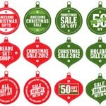 Free Icons: 20 Christmas Sale Icons