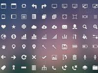 Free Icons: 108 Crisp Web Icons