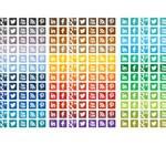 Free Icons: 1680 Square Social Media Icons