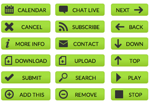 green-web-buttons