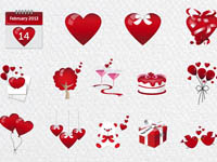 Free Icons: 14 Valentine's Day Icons