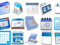 Free Icons: 22 Blue Calendar Icons