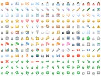 Free Icons: 400 Diagona Icons