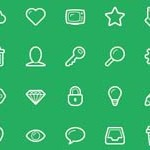 Free Icons: 48 Linecons