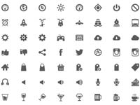 Free Icons: 500 UI Web and App Icons