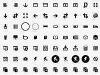 Free Icons: 902 Modern UI Icons