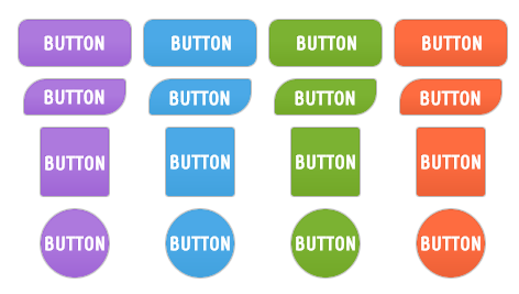 WordPress Buttons Pack - Colored Text Buttons