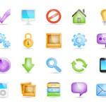Free Icons: 20 Semi-Transparent Icons