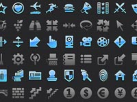 Free Icons: 14 Mobile Icons