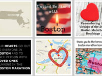 Free Icons: 15 Support for Boston Marathon Icons
