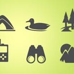 Free Icons: 16 Camping Icons