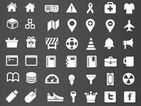 Free Icons: 375 Retina Display Icons