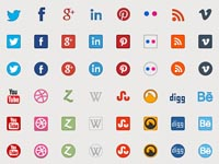 Free Icons: 516 Social and Web Icons