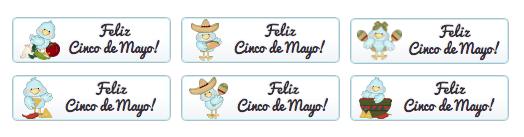 WordPress Buttons Pack - Feliz Cinco De Mayo Buttons