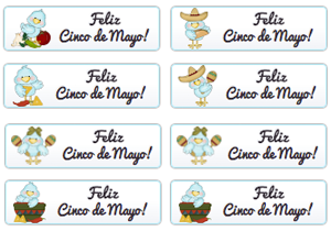 Feliz Cinco De Mayo Buttons