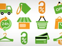 Free Icons: 15 Shopping Icons