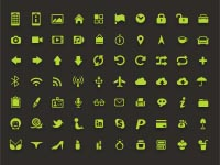 Free Icons: 70 Green KLF Icons