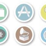 Free Icons: 21 Merit Badge iOS Icons
