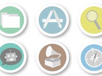 Free Icons: 21 Merit Badge iOS Icons
