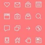 Free Icons: 24 Thin Stroke Icons
