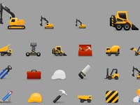 Free Icons: 25 Construction Icons