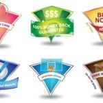 Free Icons: 28 Badge Icons