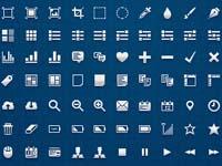 Free Icons: 77 Pixel UI Icons