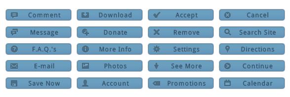 WordPress Buttons Pack - Mini Blue Buttons