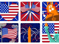 Free Icons: 10 Independence Day Icons