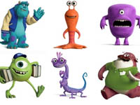 Free Icons: 28 Monsters University Icons